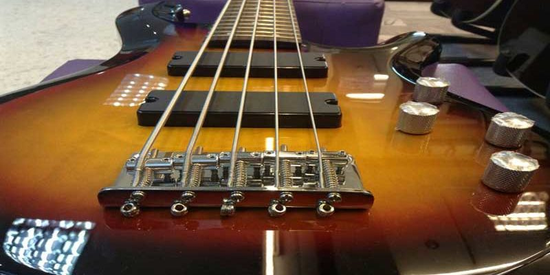 Bass-guitar-strings-only-one
